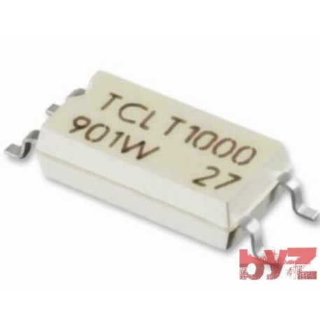 TCLT1000 - Optocoupler DC-IN 1-CH SOP 4 TCLT 1000 SMD