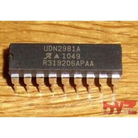 UDN2981A - Trans Darlington NPN/PNP DIP 18 UDN2981 2981A 2981