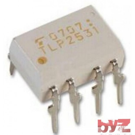 TLP2531 - Optocoupler With Base DC-OUT DIP 8 TLP2531 F TLP2531(F) P2531