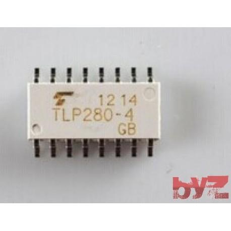 TLP280-4 - Optocoupler AC-IN 4-CH SOP 16 TLP280 P280-4