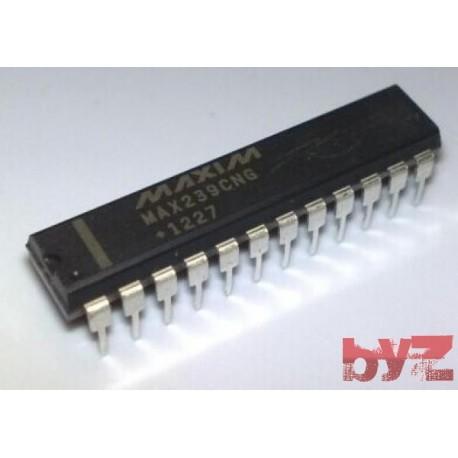 MAX239CNG - TRANSCEIVER RS232 5V LINE DIP 24 MAX239CN MAX239C MAX239