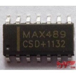 MAX489CSD - BUS TRANSCEIVER, SMD, SOIC 14 MAX489CS MAX489C MAX489 SMD