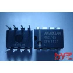 MAX749CPA - LCD BIAS SUPPLY, 6VIN, -100V,DIP 8 MAX749CP MAX749C MAX749
