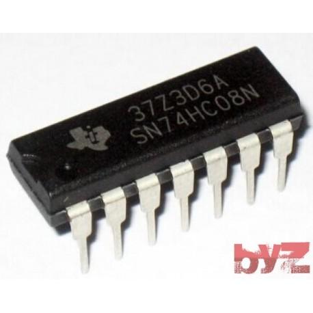 HD74HC08P - M74HC08B1R Gate And DIP 14 M74HC08 74HC08 CD74HC08 SN74HC08 74LS08