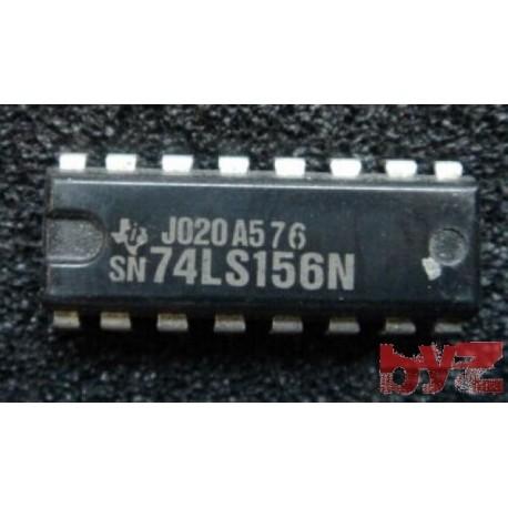 SN74LS156N - M74LS156B1R Decoder/Demultiplexer DIP 16 SN74LS156 M74HC156 74LS156 74HC156 SN74HC156