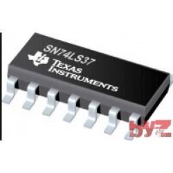 SN74LS37D - M74HC37M1R NAND Gate 4-Element SOIC 14 SN74LS37 M74HC37 74LS37 74HC37 SN74HC37 SMD