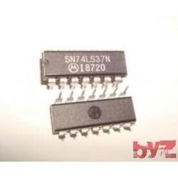 SN74LS37N - M74HC37B1R NAND Gate 4-Element DIP 14 SN74LS37 M74HC37 74LS37 74HC37 SN74HC37