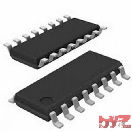 MC14520BD - CD4520BM - Counter Dual 4-Bit Binary SOIC 16 MC14520B 14520B MC14520 CD4520B CD4520 HEF4520 SMD