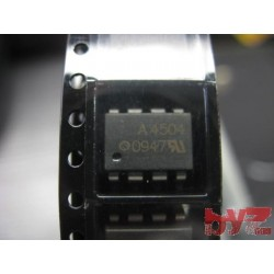 HCPL4504 - OPTOCOUPL DC-iN 1CH TRANS W/BASE DC-OUT 8PDIP