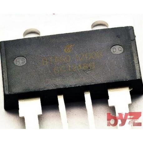 BTA60-1200B - TWO WAY SCR RECTIFIER BTA60 60A/1200V HIGH CURRENT