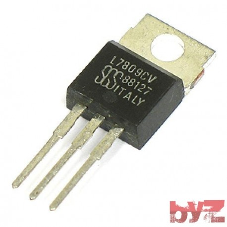 L7809CV - Standard Regulator Pos 9V 1.5A 3-Pin(3+Tab) TO 220 L7809C L7809