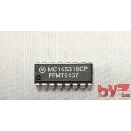 MC14531BCP - CD4528BCN - CD4528BE - Parity checker/generator DIP 16 MC14531B 14531B MC14531 CD4531B CD4531 HEF4531