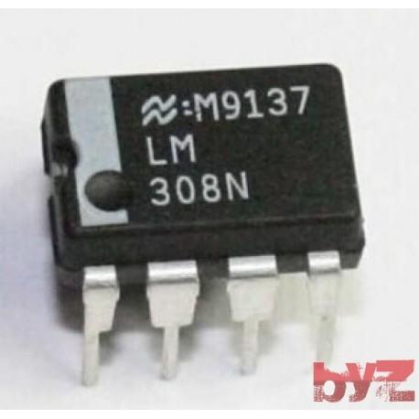 LM308N - OP Amp Single GP ±18V DIP 8 LM308