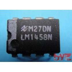 LM1458N - OP Amp Dual GP ±18V PDIP 8 LM1458
