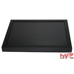 "10"" Endüstriyel Metal Kare Monitör VGA-HDMI-Svideo - MET-10-VGA-SQ"