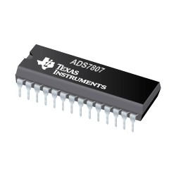 ADS7807U - Single Channel ADC SAR 40ksps 16-bit Parallel - Serial 28-Pin SOIC