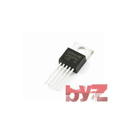 Conv DC-DC 4V to 40V Inv/Step Down Single-Out 12V 3A 5-Pin(5+Tab) TO-220