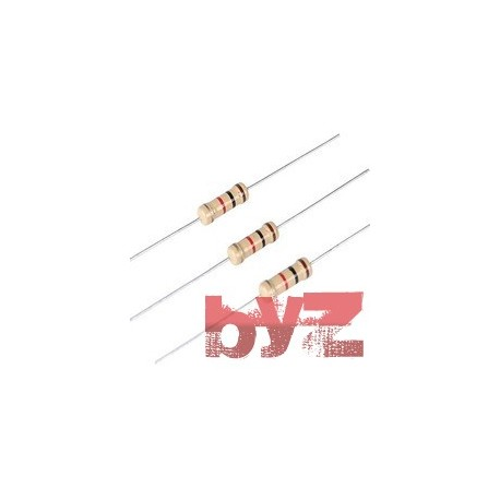 205OHM-1/4W - 205 OHM 0,25 Watt Resistance 205R 1/4W 0,25W