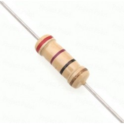 10OHM-1/4W - Direnc 10 OHM 1/4 Watt 10R 1/4W 0,25
