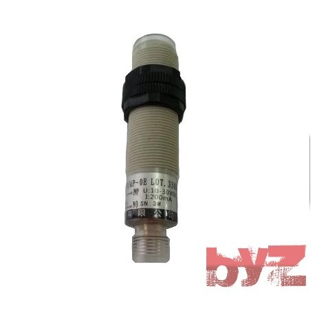 M18 DC. 3/4 Wires Axial Optics Photoelectric Sensors