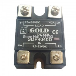 GOLD SDP4040D DC SOLID STATE RELAY SDP-4040D