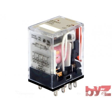 MY4-24VAC - Omron Relay MY4 AC24 Role
