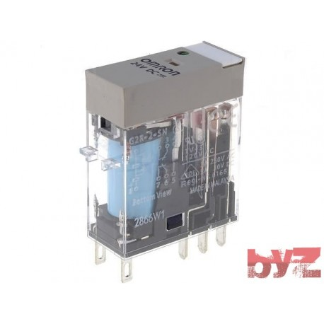 G2R-2-SN-24VDC - Omron Relay G2R 2 SN DC24 Role