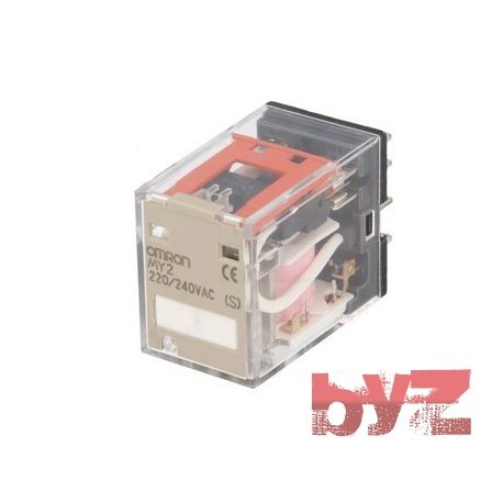 MY2-220VAC - Omron Relay MY2 AC220 Role