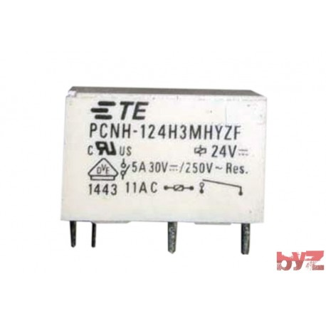 PCNH-124H3MHYZF - TYCO Relay PCNH-124H3MH 24VDC Role