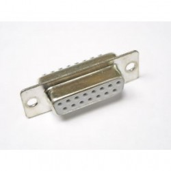D-SUB-15P-F - Connector 213 Series 15 Pin Female 15 Pin Disi D-Sub Konnektor