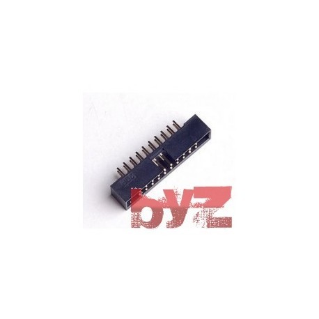 20P-Header-Male - 1x20 Pin Erkek Pin Header 180 Derece Pin header male 20 pin