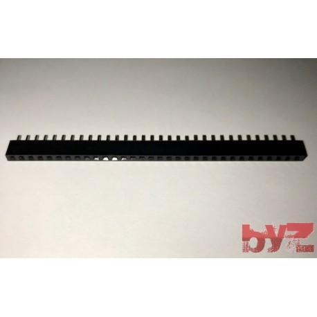 32P-Header-female - 1x32 Pin Disi Pin Header 180 Derece 32 Pin Header Female