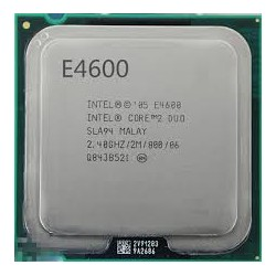 Intel® Core™2 Duo Processor E4600 (2M Cache, 2.40 GHz, 800 MHz FSB)
