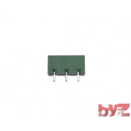 KF2EDGCV-3-7.50/7.62 - TERMINAL BLOCK 7,62 3 Pin Disi 180 Derece Gecmeli Dik Klemens