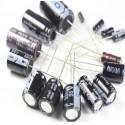 10UF350V - 10 Mikrofarad 350 Volt Electrolytic Capacitor