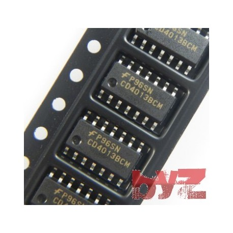 CD4013BCM - Flip Flop D-Type SOIC 14 4013 CD4013 HCF4013 HEF4013 SMD