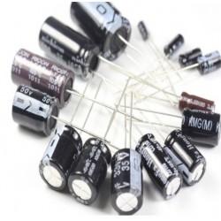 33UF50V - Elektrolitik Kondansator 33UF 50V 33 Mikrofarad 33 MF