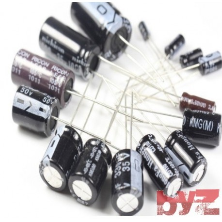 1000UF10V - Elektrolitik Kondansator 1000UF 10V 1000 Mikrofarad 1000 MF