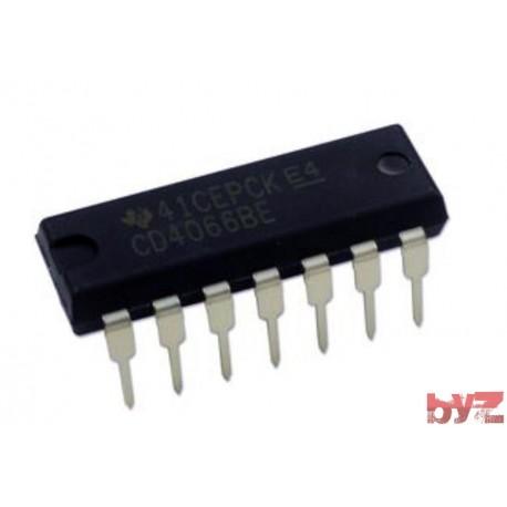 CD4066BE - Analog Switch Quad SPST DIP 14 CD4066 HCF4066 4066 HEF4066