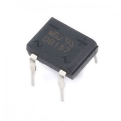 DB157 - Diode Bridge 1000V 1,5A DIP 4 DI1510