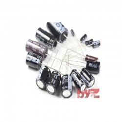 82UF400V - ELEKTROLITIC CAPACITOR 82 mikroFarad 400 Volt