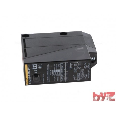 E3JM-R4M4T-G - Omron Photoelectric Sensor Relay Out Timer Sensing 4m 12 V to 240 V