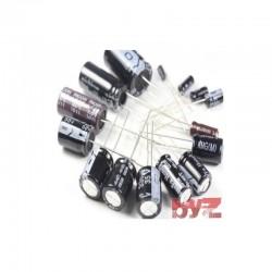 100UF25V - 100 MİKROFARAD 25 VOLT Electrolytic Capacitor