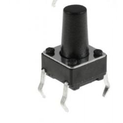 TACH-6x6-10MM-4P - TACH BUTON 6X6 h: 10MM Lenght :13mm 4 Pin