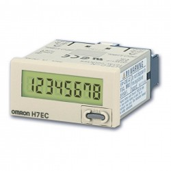 H7EC-N - OMRON LCD TOTALIZING COUNTER, 8 DIGITS